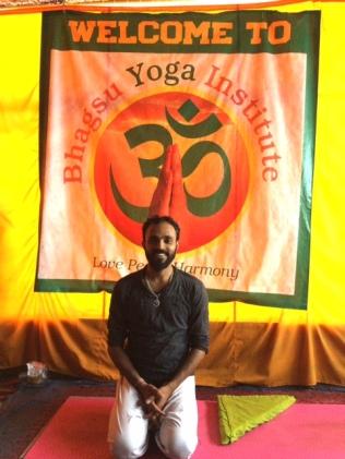 Ommji, founder of Bhagsu Yoga Institute